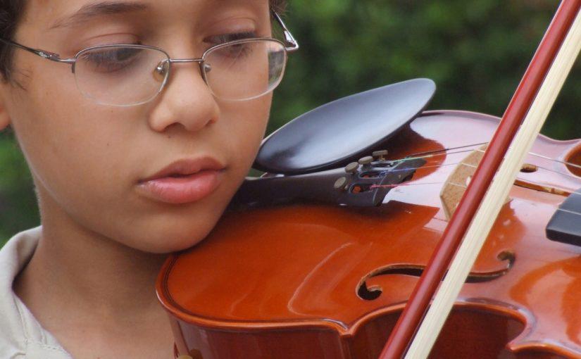 Niezbędnik młodego skrzypka